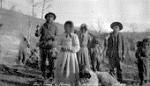 Cheslatta: Chief Louis' family  at Ootsa Lake - 1910