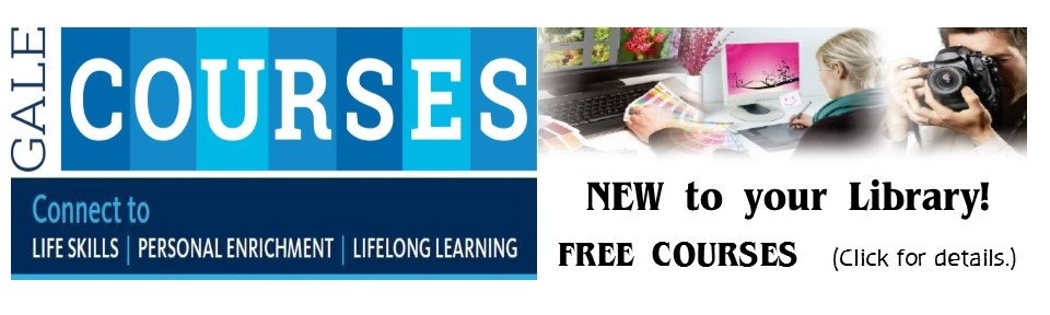 FREE Online Courses - accessible with your Library card!