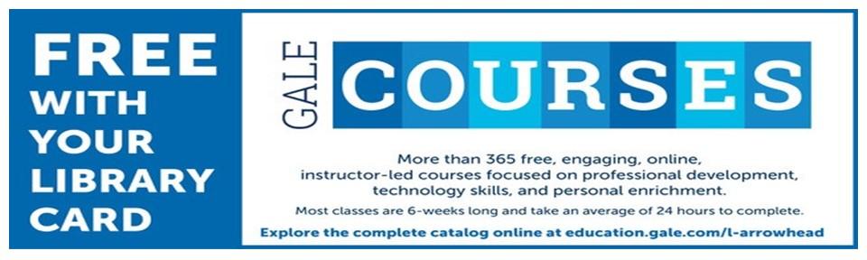 GALE Courses slide